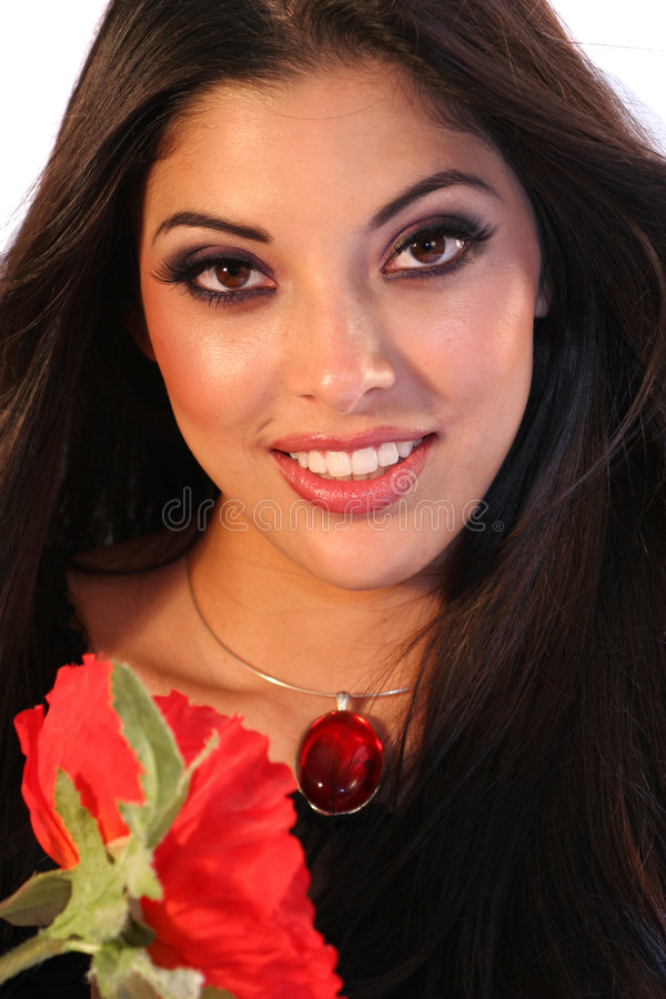 Donna latina immagine stock libera da diritti