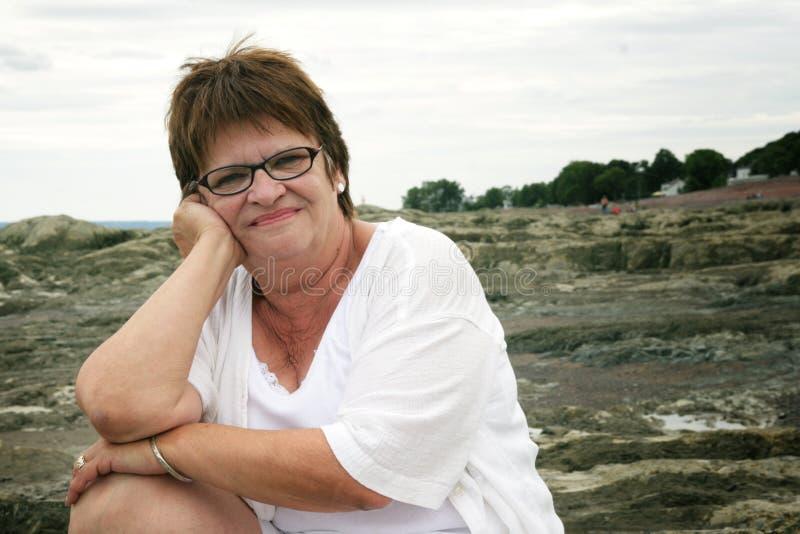 donna matura fotografie stock
