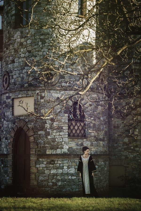 Donna medievale immagini stock libere da diritti