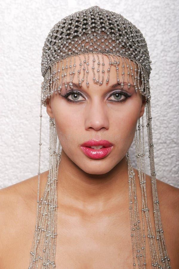 Donna multiracial sexy fotografia stock libera da diritti