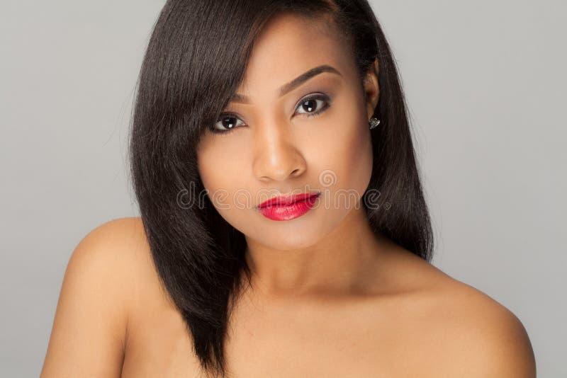 Donna multiracial splendida fotografia stock libera da diritti