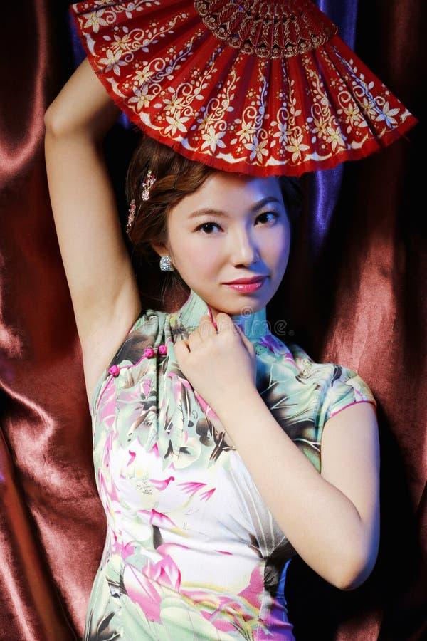 Donna orientale di bellezza classica immagini stock libere da diritti