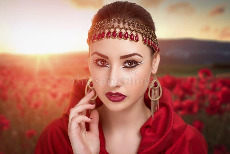 Donna perfetta fotografie stock libere da diritti
