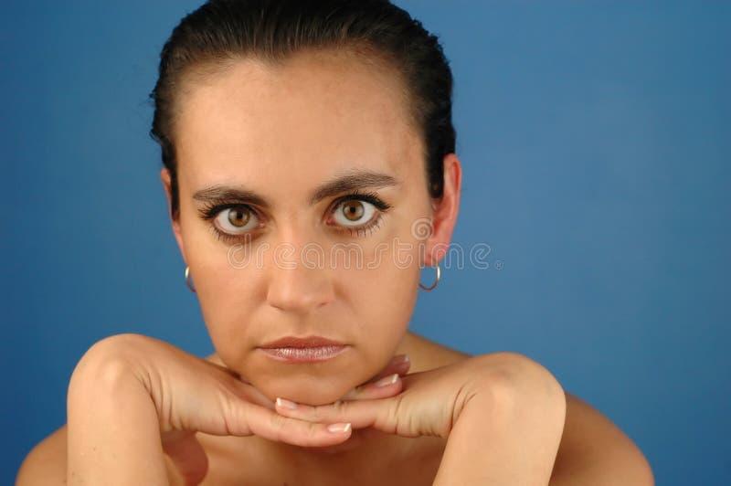 Download Donna - ritratto - 3 immagine stock. Immagine di luminoso - 125599