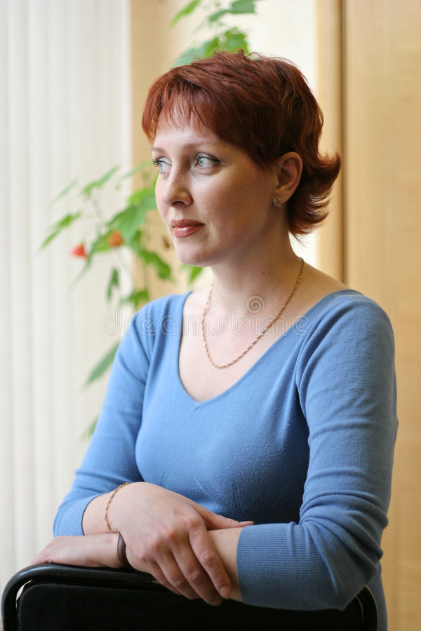 Donna russa fotografia stock libera da diritti