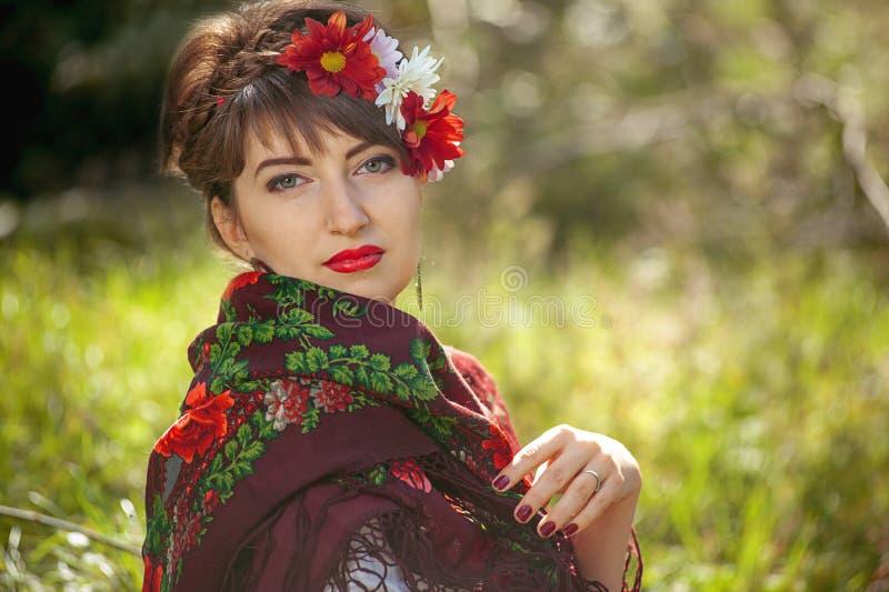 Donna russa immagine stock libera da diritti