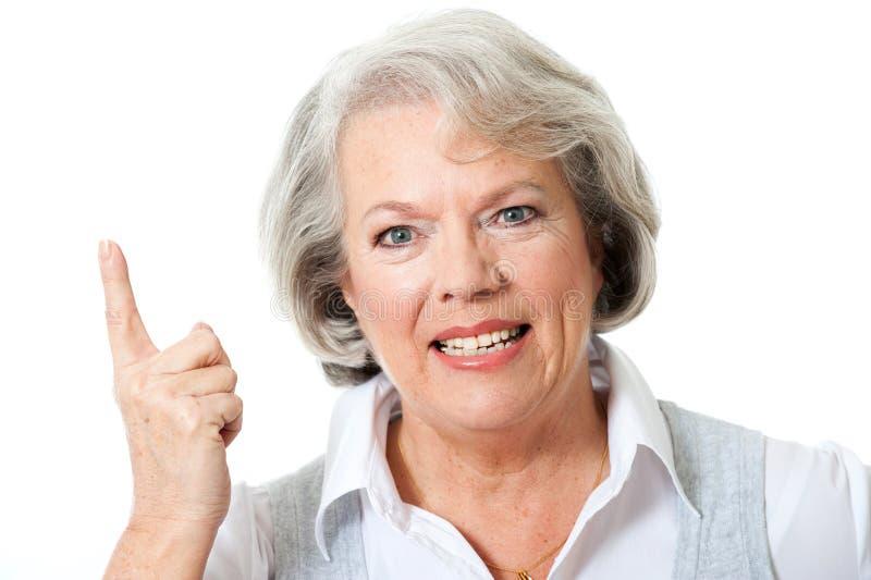 Donna senior immagini stock libere da diritti