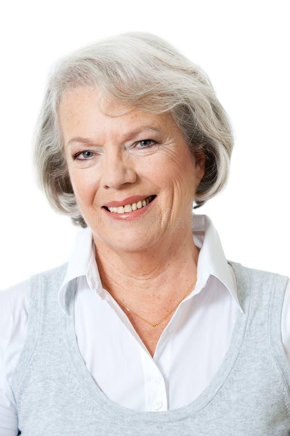 Donna senior immagini stock