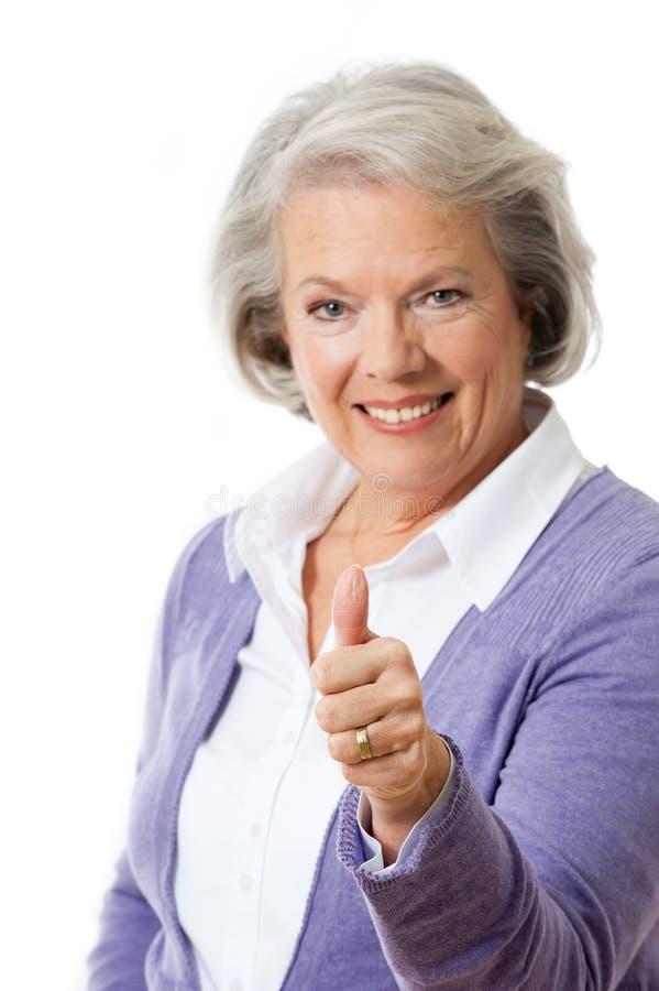 Donna senior immagine stock libera da diritti