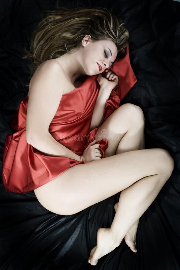 Donna sensuale fotografia stock libera da diritti