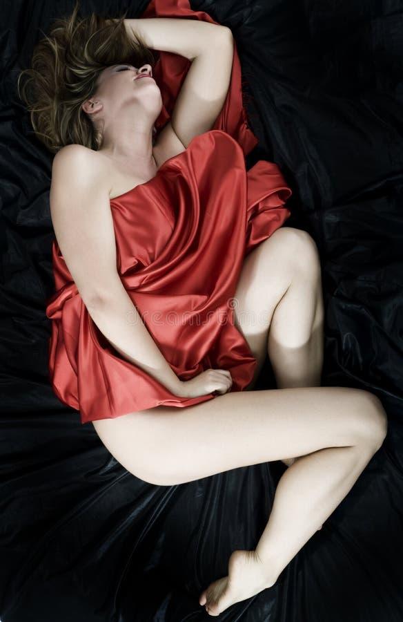 Donna sensuale immagini stock
