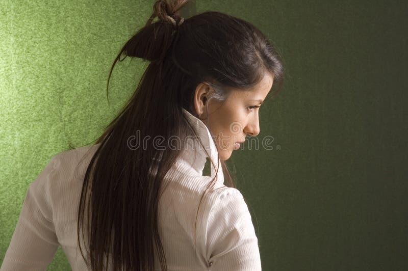 Donna sensuale del ritratto fotografie stock libere da diritti