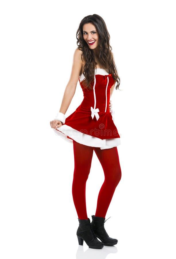 Donna sexy della Santa fotografie stock