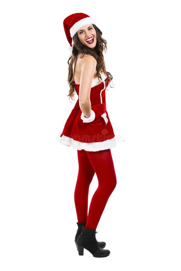 Donna sexy della Santa fotografia stock