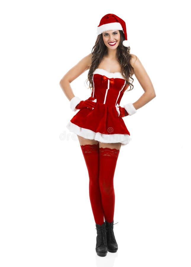 Donna sexy della Santa immagini stock libere da diritti