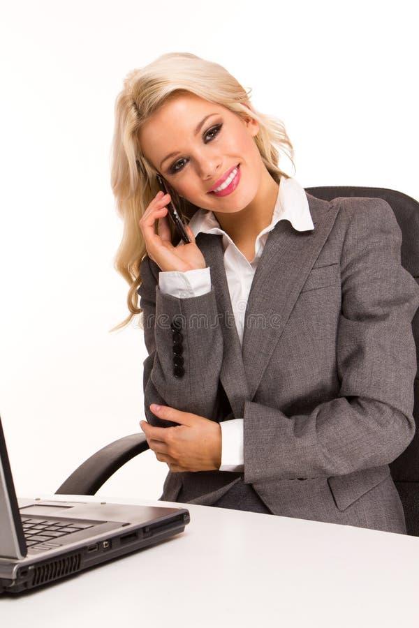 Donna sexy di affari fotografie stock libere da diritti
