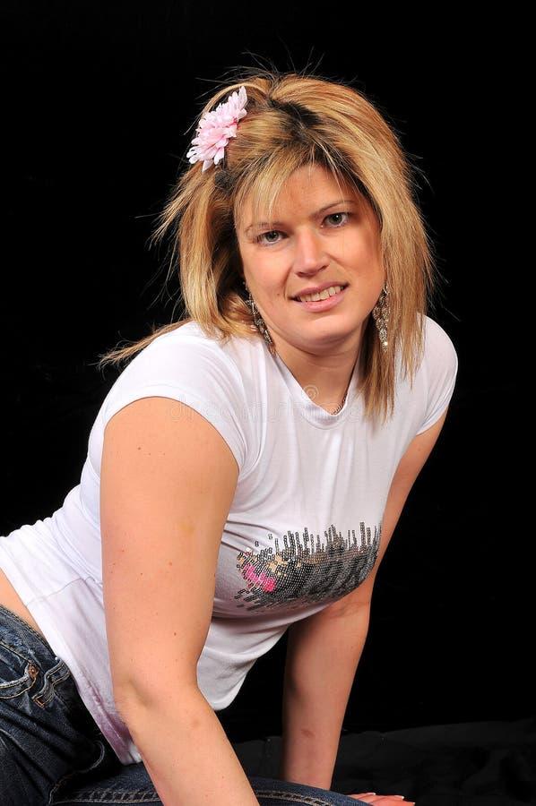 Donna sexy sveglia 66 fotografie stock libere da diritti
