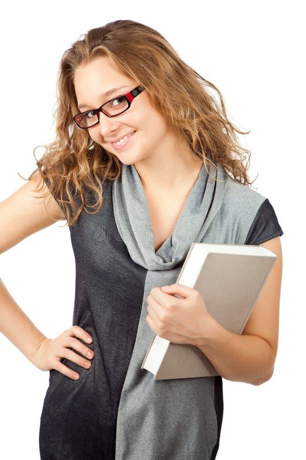 Donna sorridente di affari. immagine stock