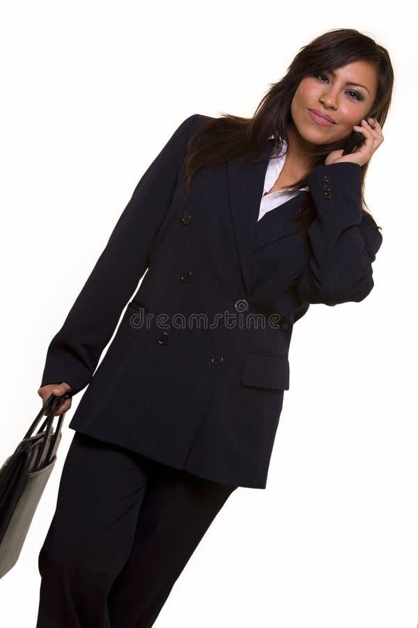 Donna spagnola di affari fotografia stock
