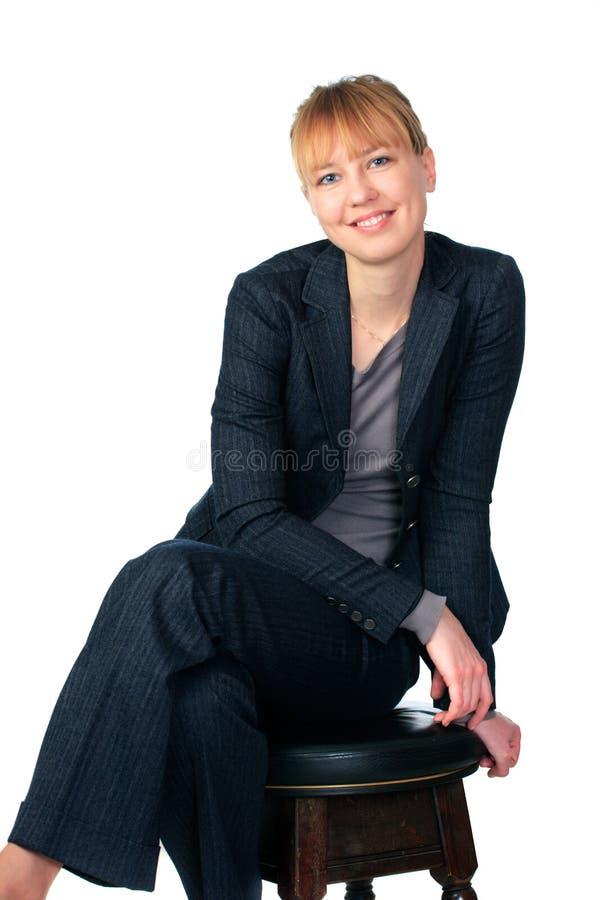 Download Donna Su Una Priorità Bassa Bianca Fotografia Stock - Immagine di mano, estetiche: 7304356