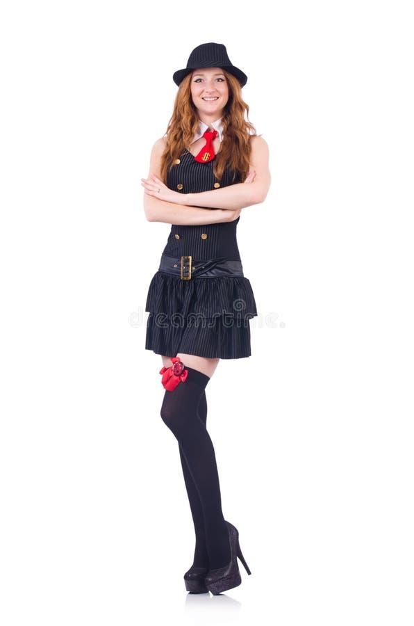 Donna vestita immagine stock libera da diritti