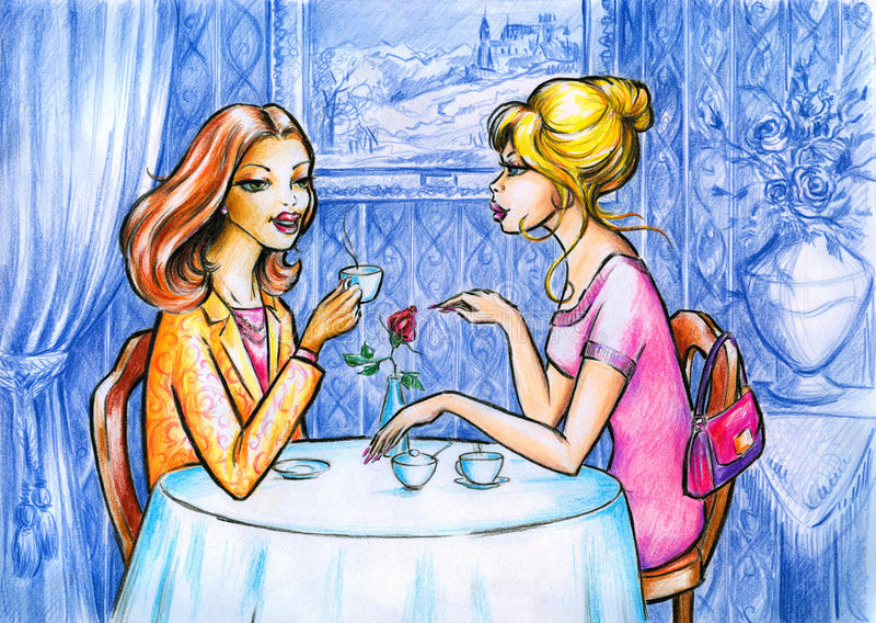 Donne royalty illustrazione gratis