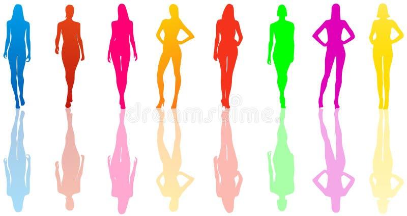 Donne illustrazione di stock