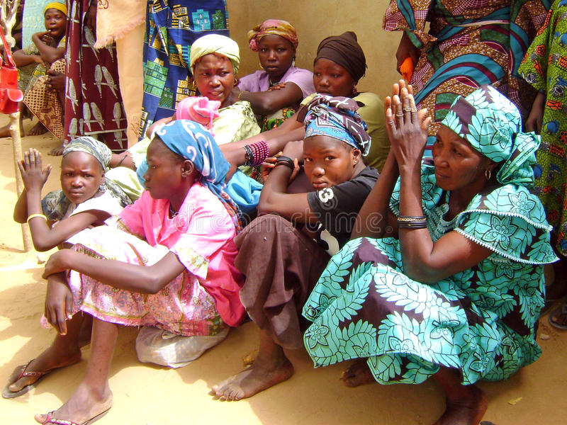 Donne africane fotografie stock libere da diritti
