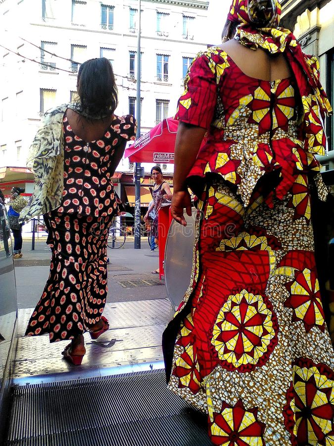 Donne africane immagine stock