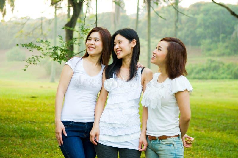 Donne asiatiche immagine stock libera da diritti