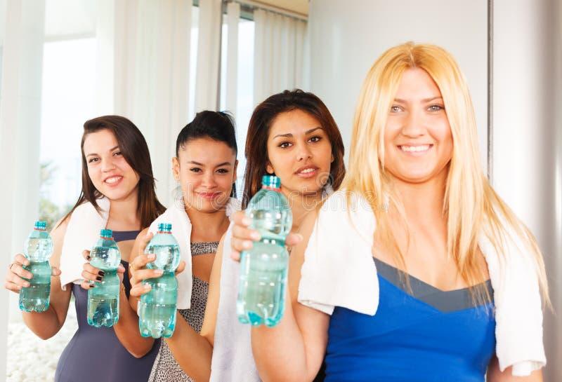 Donne in buona salute di forma fisica fotografia stock
