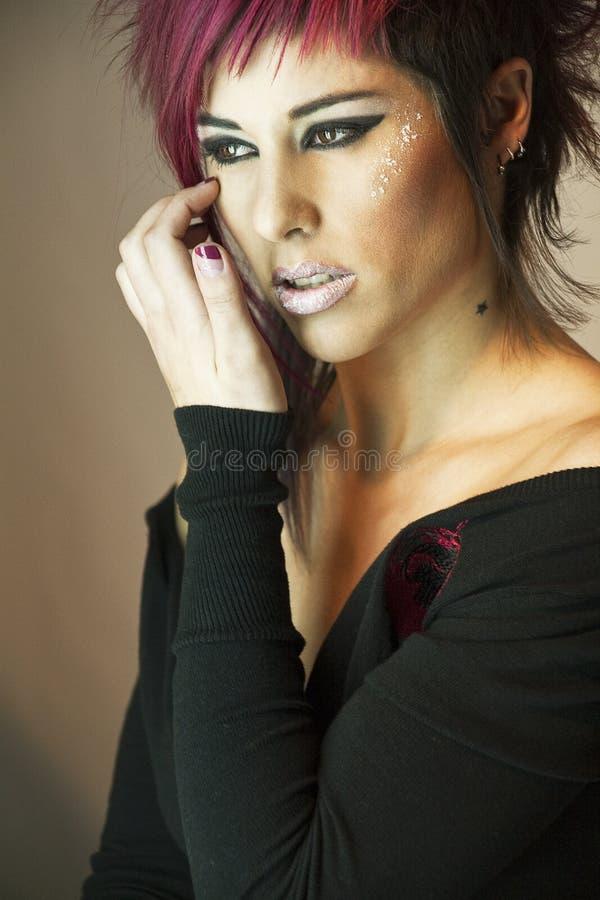 Donne con capelli rossi immagine stock
