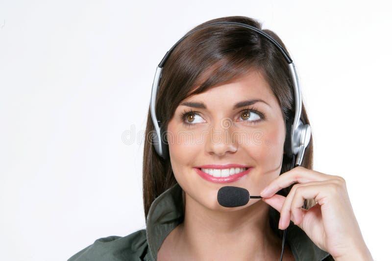 Donne con il microfono immagini stock