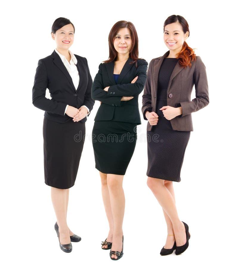 Donne di affari asiatiche sicure fotografie stock