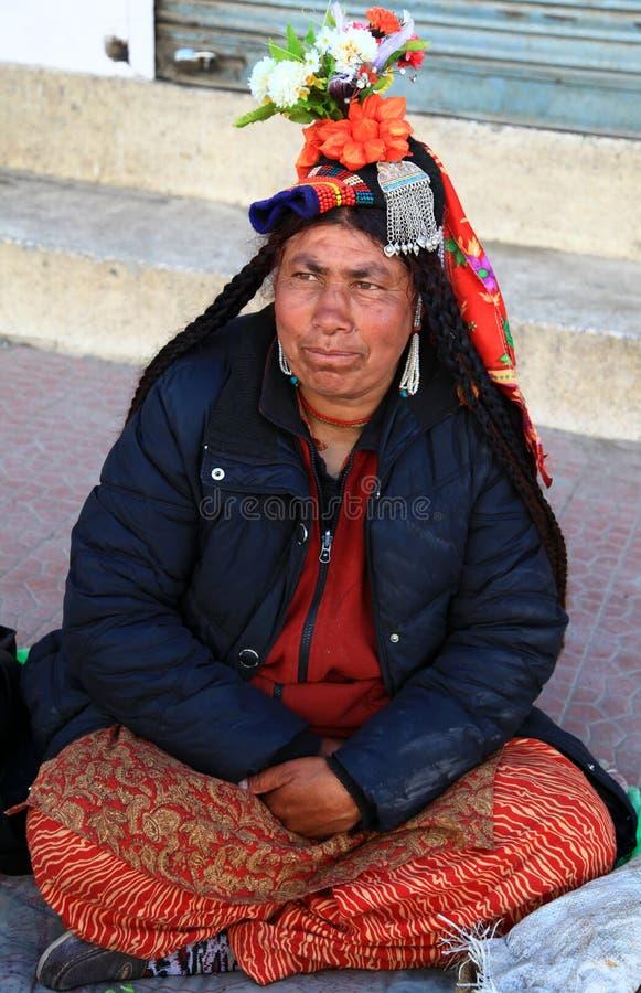 Donne di Ladhaki fotografia stock libera da diritti