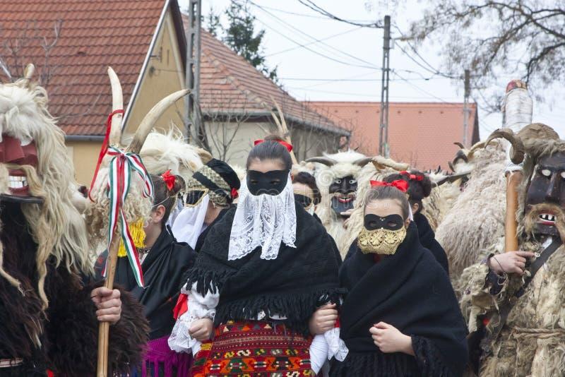 Donne 'di Sokac' in costume tradizionale immagini stock libere da diritti