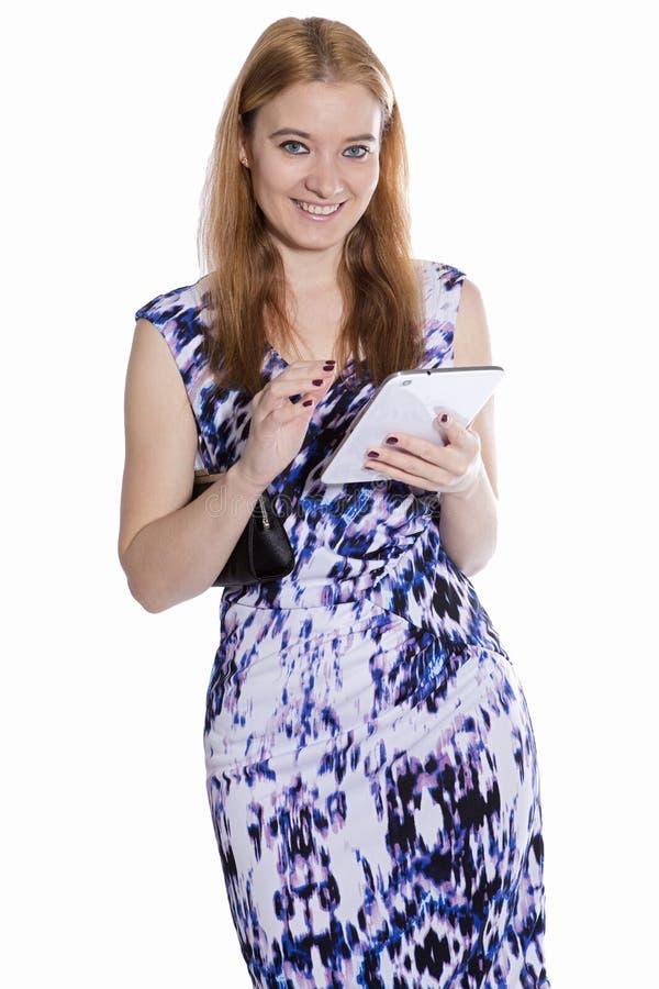 Donne e tecnologia immagini stock libere da diritti