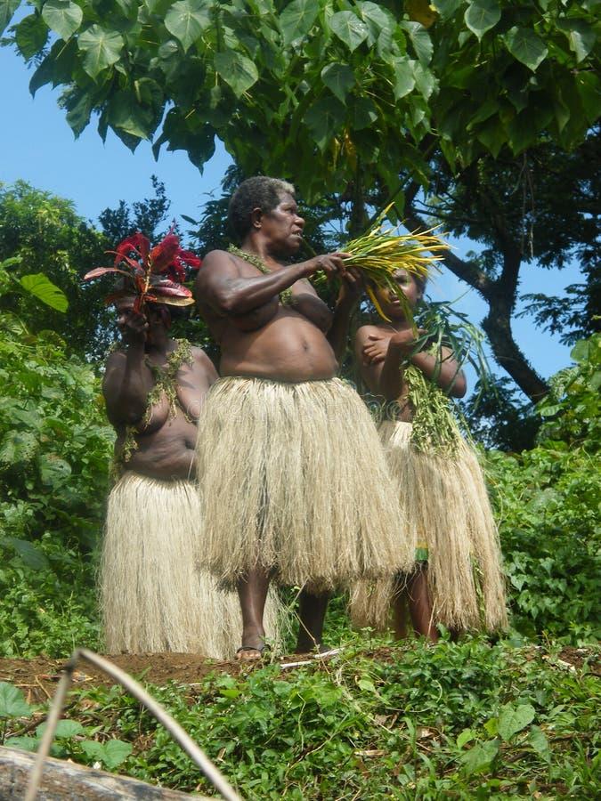 Donne natali nel Vanuatu immagine stock