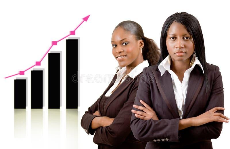 Donne nel commercio fotografia stock libera da diritti