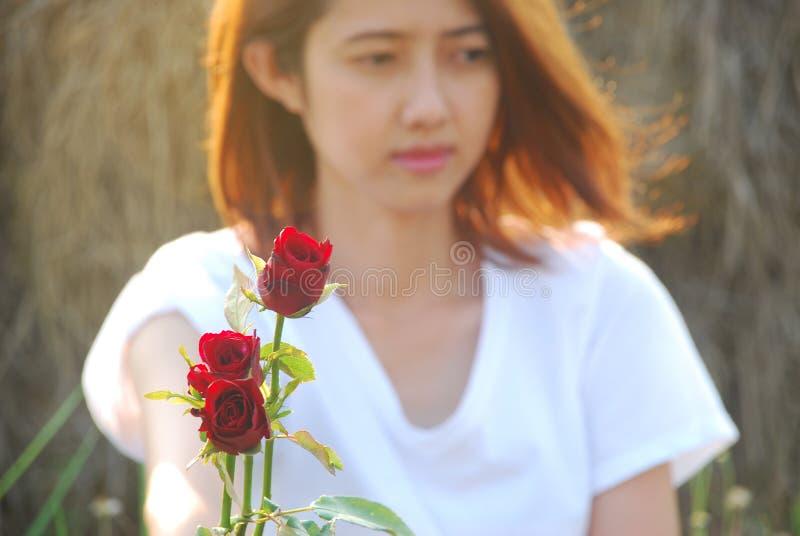 Donne nell'amore fotografie stock