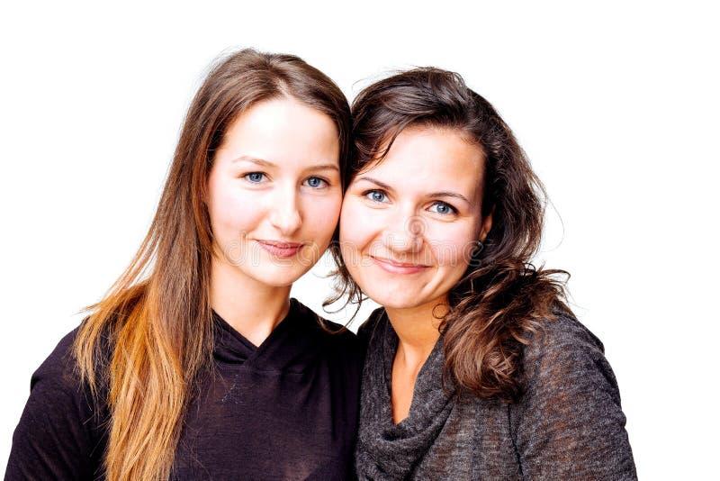 Donne sorridenti fotografia stock