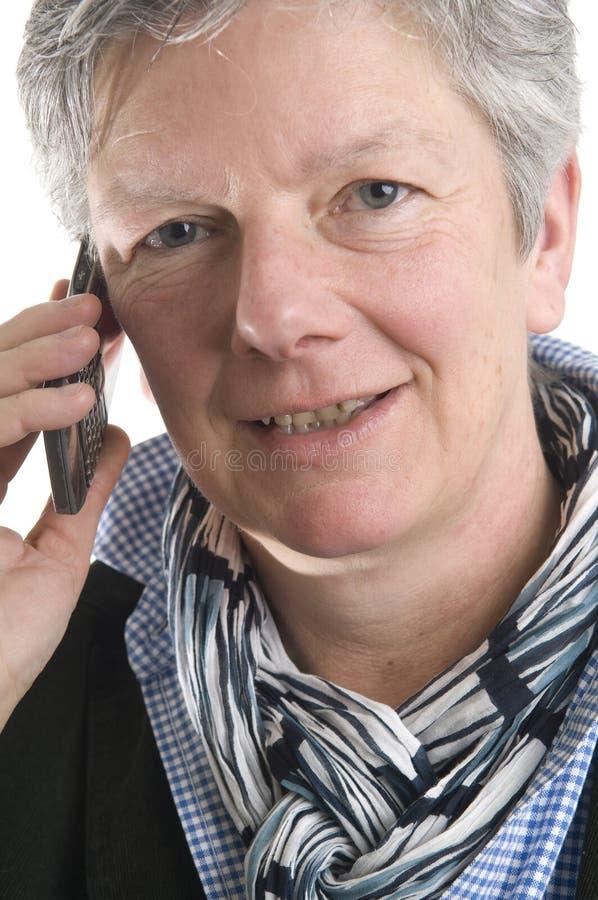 Donne sul telefono fotografia stock libera da diritti