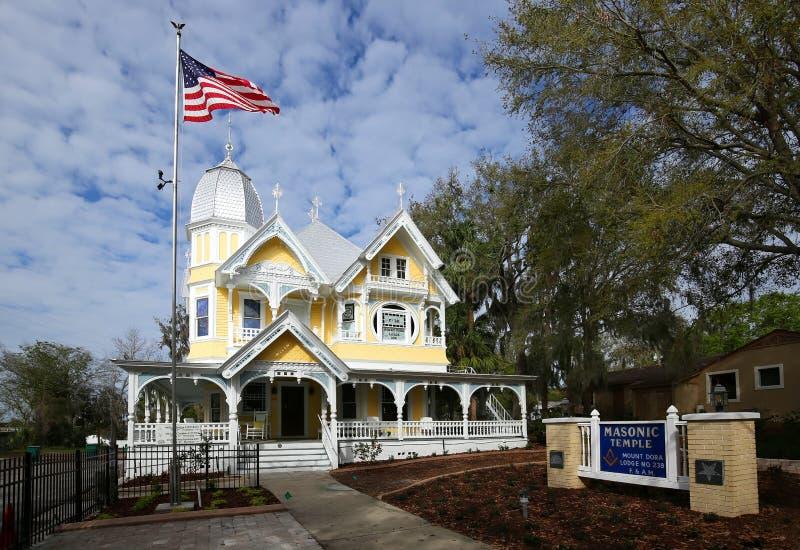 Donnelly House im Berg Dora, Florida stockfoto