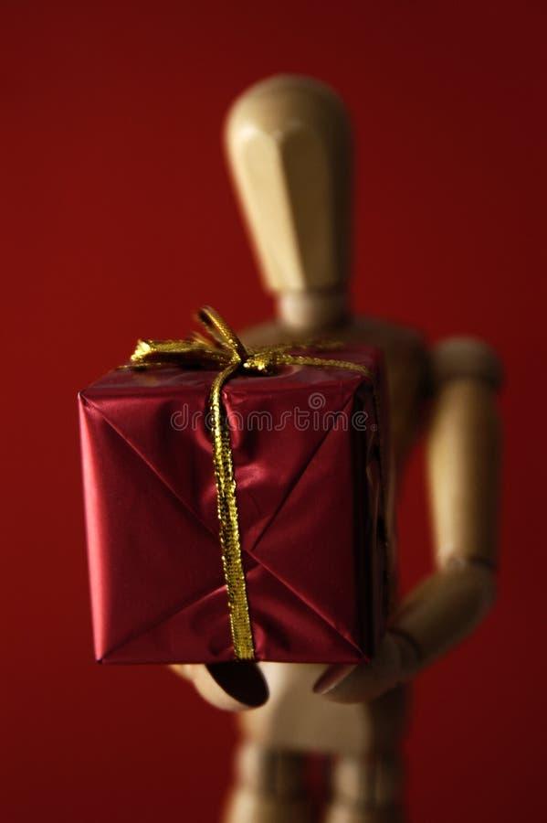 Donner de cadeau image stock
