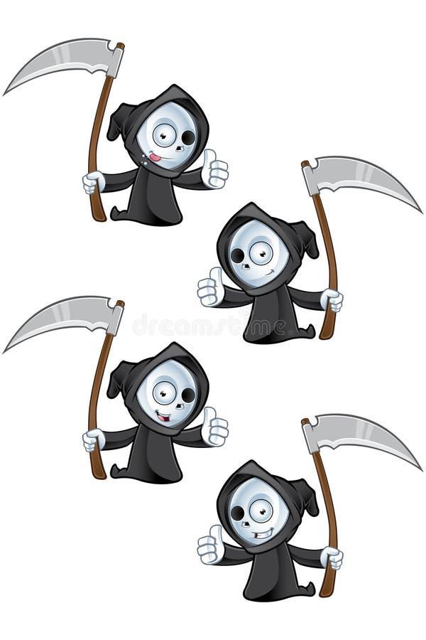 Donner de Reaper pouces  illustration libre de droits