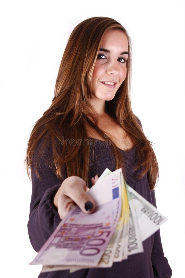 Download Donner l'argent photo stock. Image du européen, donner - 8666034