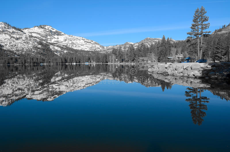 Donner Lake 3 royalty free stock images