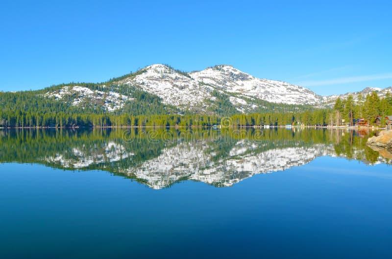 Donner Lake 2 stock image
