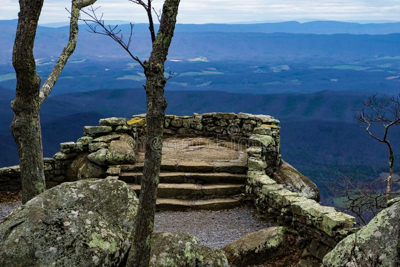 Donner Ridge Overlook - 2 stockfotografie