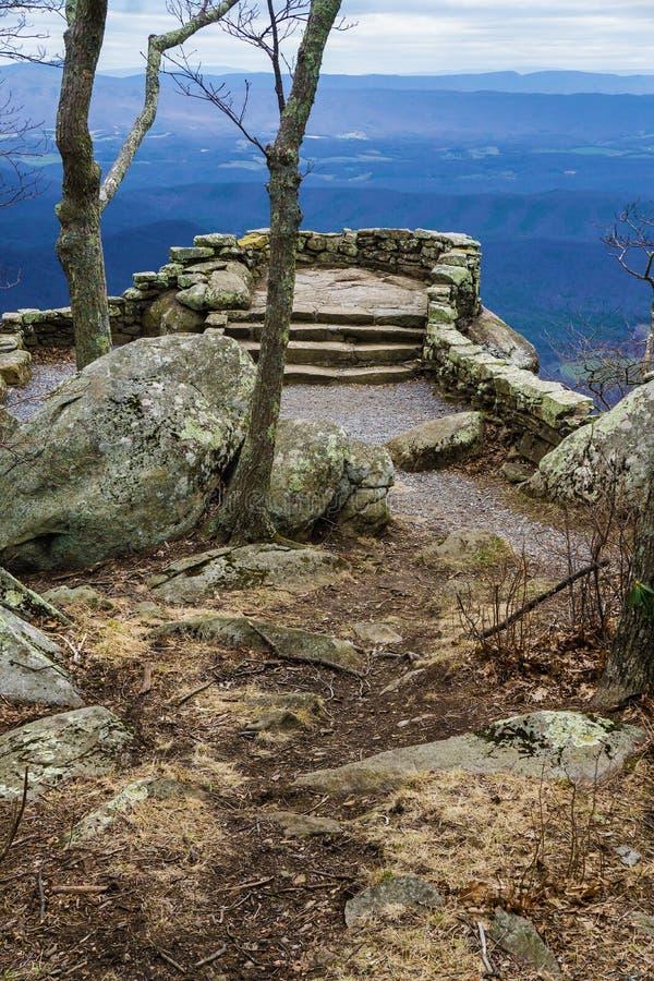 Donner Ridge Overlook - 4 stockfoto